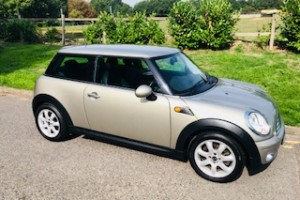 2007 MINI Cooper In Sparkling Silver with Full Punch Leather & Low Miles