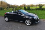 2005 Vauxhall Tigra Sport Twinsport Black With Leather Seats