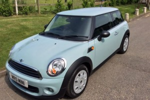 2013 MINI One In Ice Blue with 1 Lady Owner from New & Low Miles