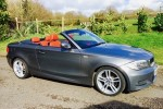 2011BMW 1 Series 2.0 120d M Sport Convertible with Full Red Leather Interior
