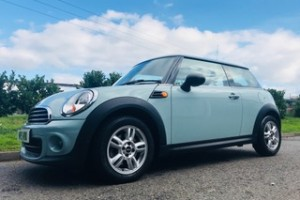 2013/63 MINI One AUTOMATIC in Ice Blue PICTURES TO FOLLOW – JUST ARRIVED