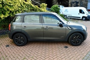 2013 MINI Countryman Cooper S All 4 in Royal Grey with Full Lounge Leather & Sunroof