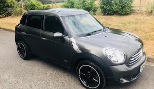 2013/63 MINI Cooper D ALL 4 Countryman in Royal Grey with HUGE SPEC Including Sat Nav, Sunroof, Full Lounge Leather Heated Seats, Cruise & More+++