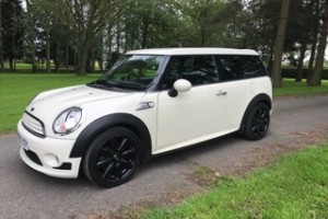 2010 / 60 MINI Cooper Clubman In Pepper White with Aerodynamic Body Kit & Lots of Extras including Chili Pack