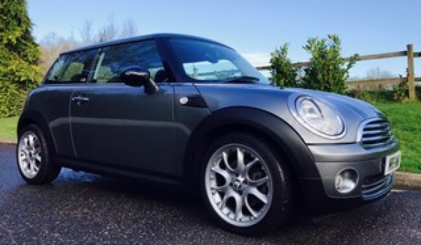 Ron has chosen this 2009 / 59 Limited Edition MINI Cooper Graphite