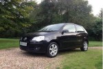 2008 Volkswagen Polo 1.2 Match 60 3dr in Black with 39K miles  CALL KIRSTY ON 07545 333943