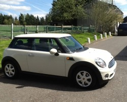 2008 MINI ONE with PEPPER PACK