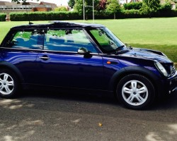 2005 / 55 MINI ONE IN PURPLE – GREAT FIRST MINI