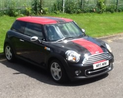 Sold to Liz who is now driving this 2010 / 60 MINI ONE Diesel – with a few nice little extras
