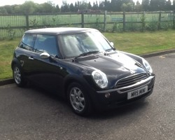 Sold to Beth & Jason  2006 MINI ONE SEVEN with Pepper & Visibility Pack & Piano Black Interior