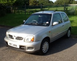 2002 Nissan Micra Tempest – Converted from Fairy Dust to Petrol – Part Ex to clear