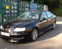 Neil decided this Saab would look good on his drive  2004 54 Saab 9-3 2.0T Aero 4dr Auto
