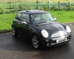 """Now Called """"Charlie"""" YOU'RE ONLY SUPPOSED TO BLOW THE BLOODY DOORS OFF…..   2005 MINI ONE – HIGH SPEC 1 OWNER FROM NEW"""