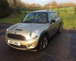Gone to a Producer – Watch out for her in the next Blockbuster….   2007 MINI Cooper S with John Cooper Works Engine Conversion & HUGE SPEC