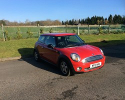 2008 MINI One Red 1.4 with Pepper Pack, Multifunction Steering Wheel with Cruise Control & Upgraded Alloys