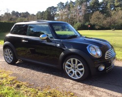 This MINI was an 18th Birthday gift & has gone to Wells in Somerset to live – 2009 / 59 MINI COOPER DIESEL – WITH PANORAMIC SUNROOF & ALLOYS