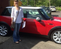 2005 MINI Cooper in Chili Red with SUNROOF Last serviced Feb 2015 & MOT TO Jan 2016 – CRACKING MINI FOR HER AGE