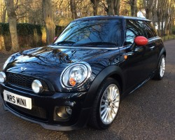 Danielle has chosen this 2007 / 57 MINI COOPER IN BLACK WITH JOHN COOPER WORKS COLOUR CODED BODYKIT