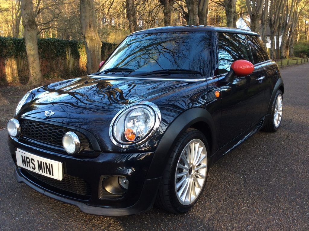 Danielle Has Chosen This 2007 57 Mini Cooper In Black With John