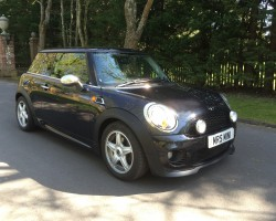 Kelly has chosen this 2007 /57 MINI Cooper In Black with John Cooper Works Aerobat & Lounge Leather