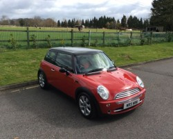 2006 MINI Cooper in Chili Red – with Heaps of MINI Service History