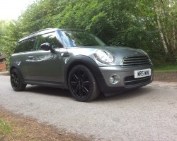 Sam, your dad wants you to pick a name for your new MINI – 2010 MINI Cooper Graphite Clubman Diesel – High Spec Low Miles