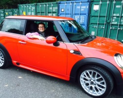 Emma chose this 2011 / 61 MINI One with HUGE SPEC & Low MILES JOHN COOPER WORKS BODYKIT, BLUETOOTH, CRUISE FULL MINI HISTORY