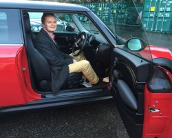 Nicholas decided he wanted to own this 2010 MINI COOPER CHILI with FULL LEATHER & CRUISE