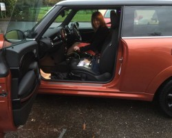 Elaine has chosen this  2010 / 60 MINI Cooper Chili Pack in Spice Orange – SIMPLY STUNNING MINI