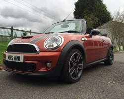 "Withdrawn from sale until the summer   Introducing ""Betsey"" – 2011 MINI Cooper S D in Spice Orange with Chili Pack & So much more"