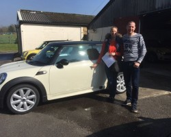 Paul is treating Tamsin to this 2007 MINI Cooper In Pepper White with Chili Pack & John Cooper Works Sideskirts & so much more