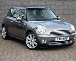 "Hannah has chosen this 2010 MINI Cooper Special Edition Graphite with 23K miles Called ""EARL"""
