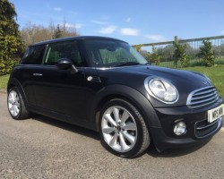 2012 MINI Cooper Chili Pack in Midnight Black with Low Miles