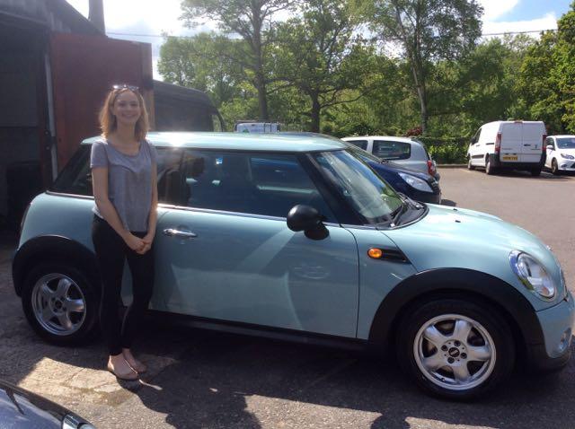 2011 Mini One With Pepper Pack In Ice Blue Mrs Mini Used Mini