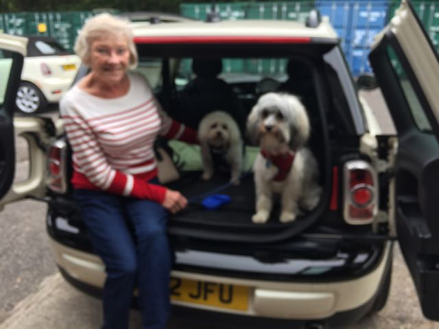 Barbara Has Chosen This 2012 Mini One Clubman In Pepper White With