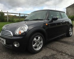 2007 MINI Cooper Automatic Black With Full Leather