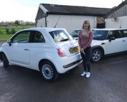 Robyn has chosen this 2009 Fiat 500 1.2 Lounge In Superb Condition with LOW MILES & FULL SERVICE HISTORY