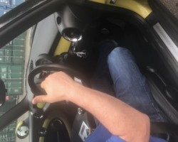 Mike chose this 2009 MINI Cooper S in Interchange Yellow – with RIDICULOUSLY LOW MILES 27K