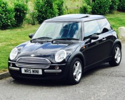 Too Late, gone to Anna & her daughter Natalea 2004 MINI One AUTOMATIC in Astro Black with Sunroof