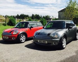 Ravinder chose this 2010 MINI Cooper Graphite with only 30K miles