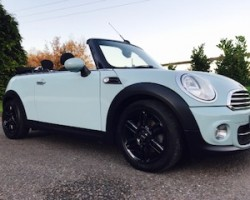 Hollie from Cornwall has chosen this 2013 / 63 MINI Cooper Diesel Convertible in Ice Blue – Just Serviced, BIG SPEC Including B'Tooth, Chili Pack & Multifunction Steering Wheel with Cruise Control too