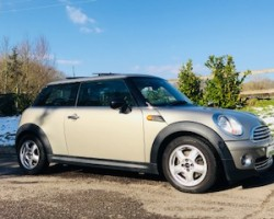 Off to Penzance for this 2008 MINI One in Sparkling Silver with HUGE Spec Including Full Leather Heated Seats, Sunroof & Full MINI Service History & ONE OWNER FROM NEW