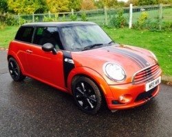 2010 MINI Cooper in Spice Orange with Chili Pack