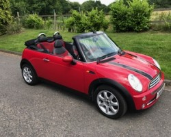 Virginia has chosen this MINI 2007 / 57 MINI Cooper Convertible in Chili Red inside & out! With Chili Pack & so much more