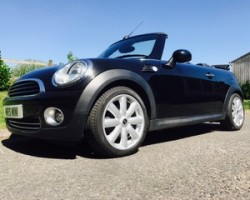 Judith chose this first in 2018 then we sold it again to Emily in 2020 …….2010 MINI Cooper Automatic with Chili Pack in Black with High Spec