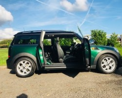 Off to Bonnie Scotland for this RARE 2012/62 MINI Copper D Clubman AUTOMATIC in British Racing Green with BIG SPEC & LOW MILES  VISIBILITY & CHILI PACKS