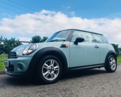 2013/63 MINI One AUTOMATIC in Ice Blue