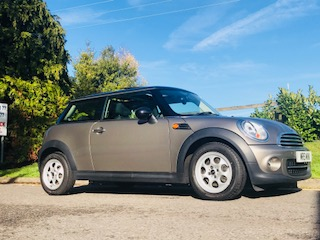 2013 MINI Cooper In Velvet Silver with just 25K miles & Panoramic Sunroof