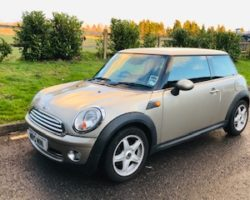 Courtney has chosen this 2009 MINI Cooper in Sparkling Silver with Pepper Pack