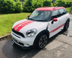 2013 / 63 MINI COUNTRYMAN JCW – A Family Car with Speed, LOW MILES & Toys!